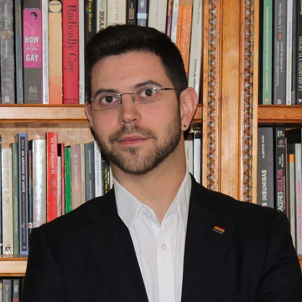 ramon Martinez autor de La cultura de la homofobia