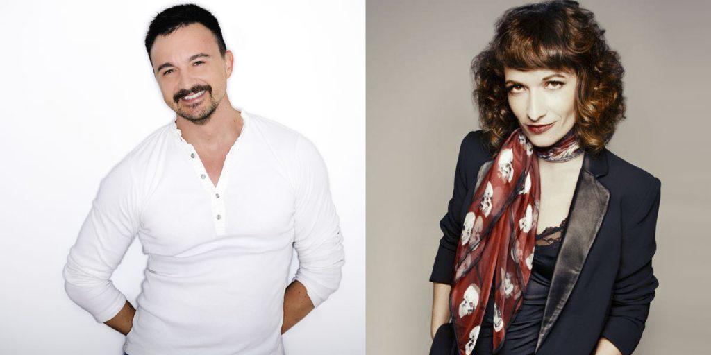 Guillem Clua y Sonia Sebastian
