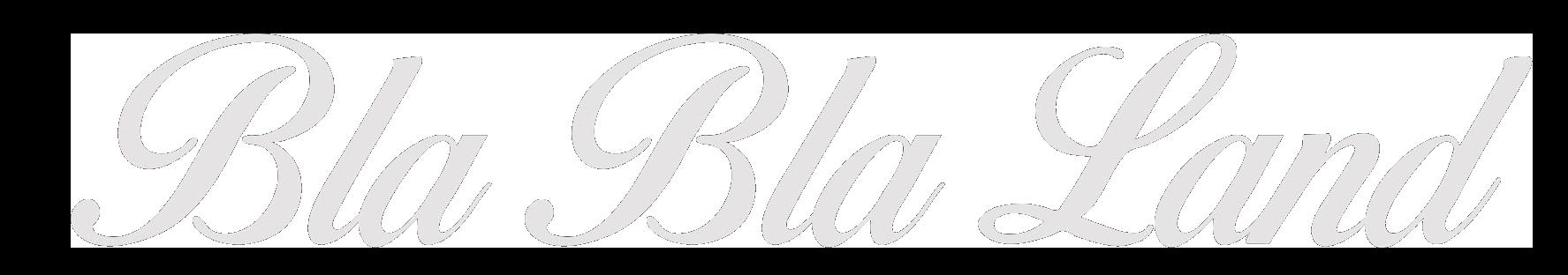 Logo capítulo Bla Bla Land